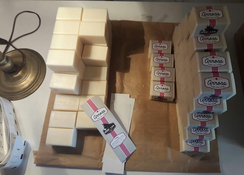 emballage savon